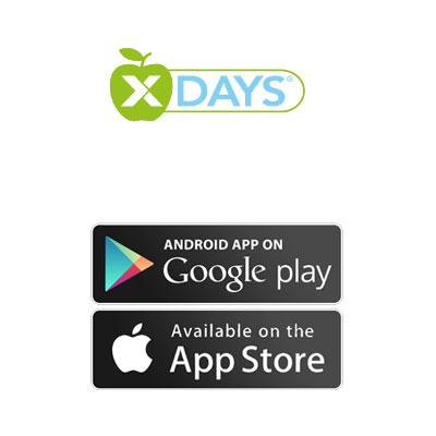 Unser Programm auch in der X-DAYS App